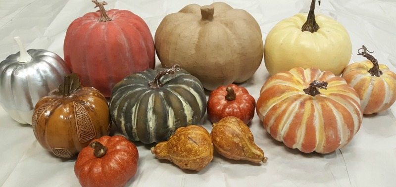 Gather all your pumpkins and get ready to create gorgeous designer looking pumpkins easily and inexpensively