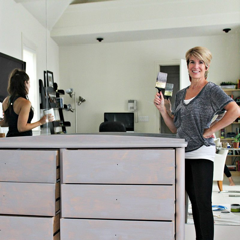 How to repurpose furniture with chalk paint