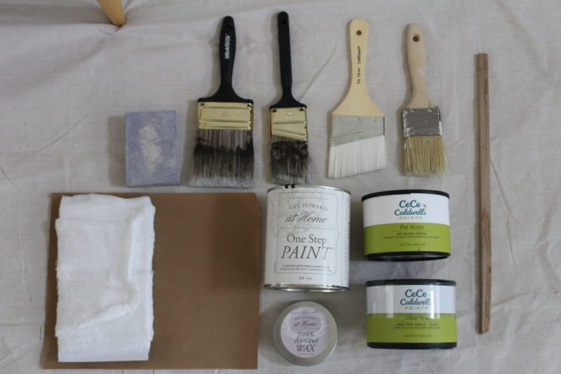 Tools Needed for Chalk Paint