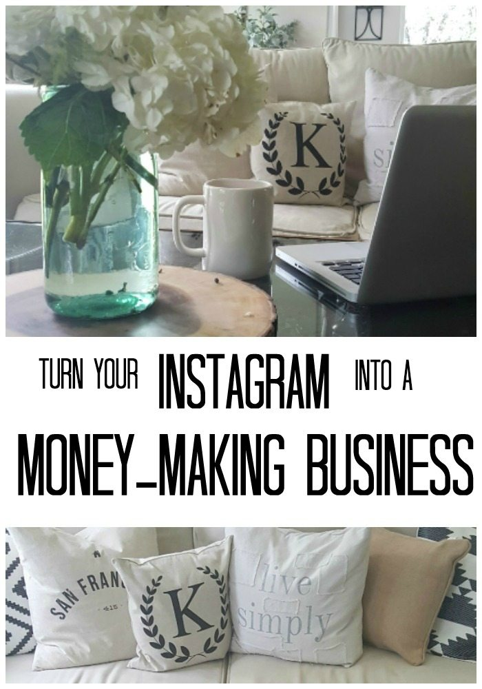 Turn Your Instagram Into a Money-Making Business pin
