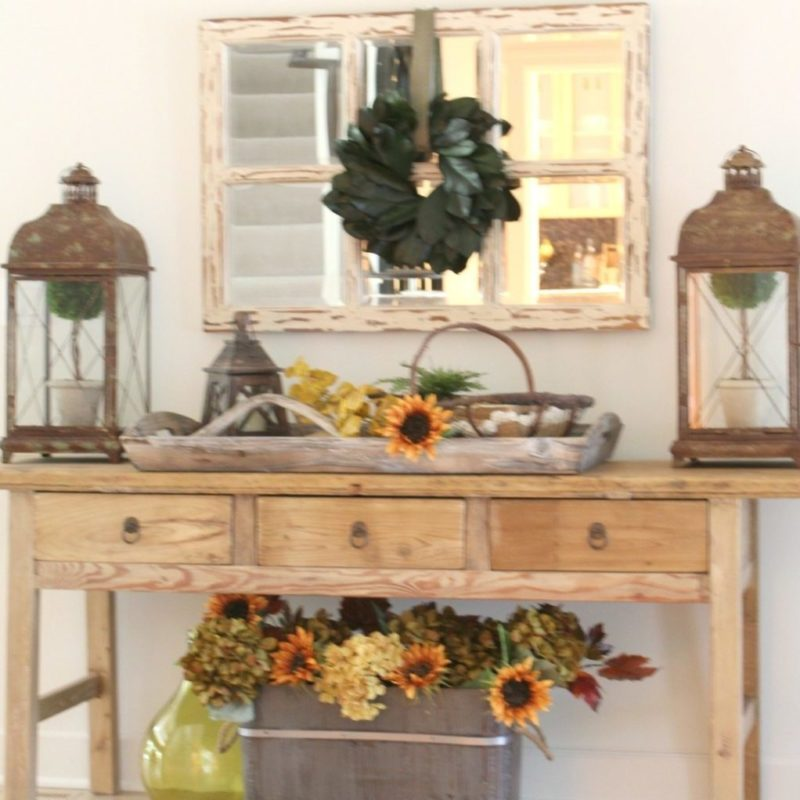Julie's Fall Home Tour