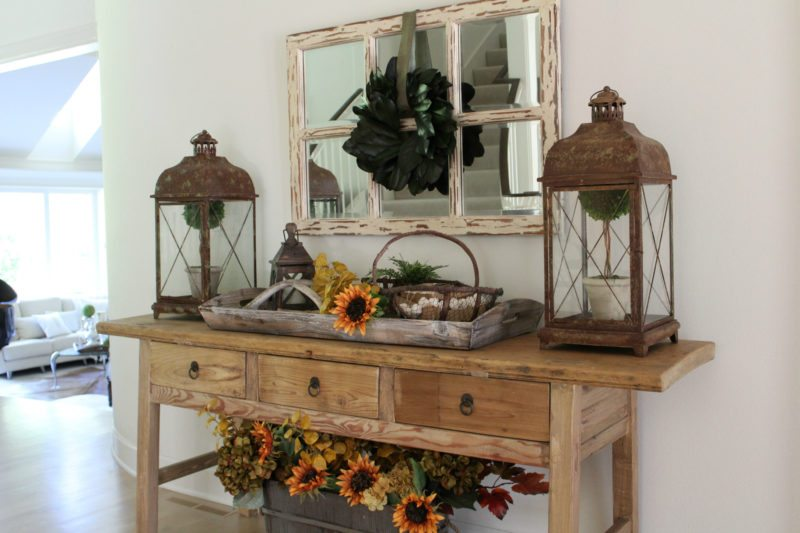 decorating tips for your front entryway