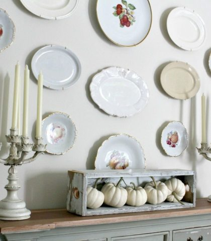 plate wall tutorial inspiration