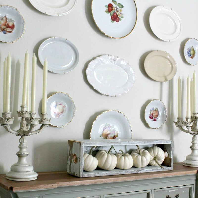 How to Create a Plate Wall
