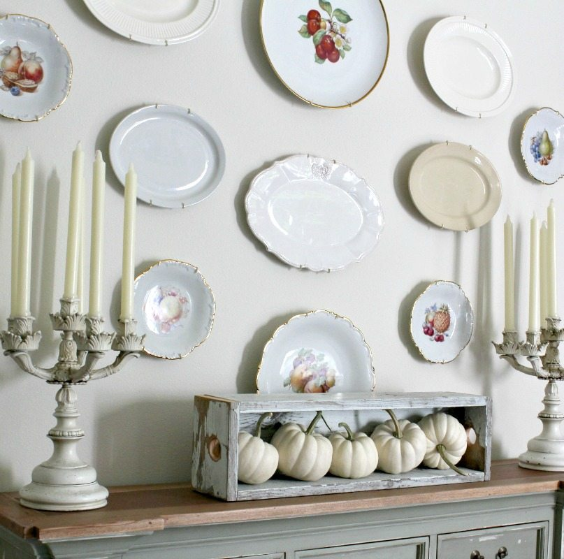 How to create a plate wall the design twins diy home for Home design inspiration blog