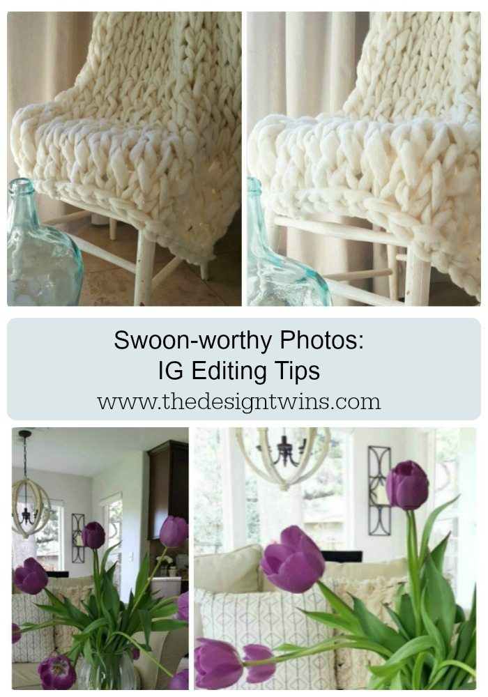 swoon worthy photos edit camera phone pics in IG Pinterest pin