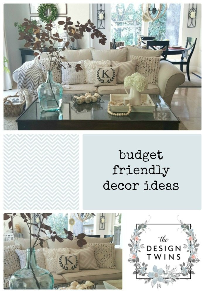 Budget-friendly decorating ideas
