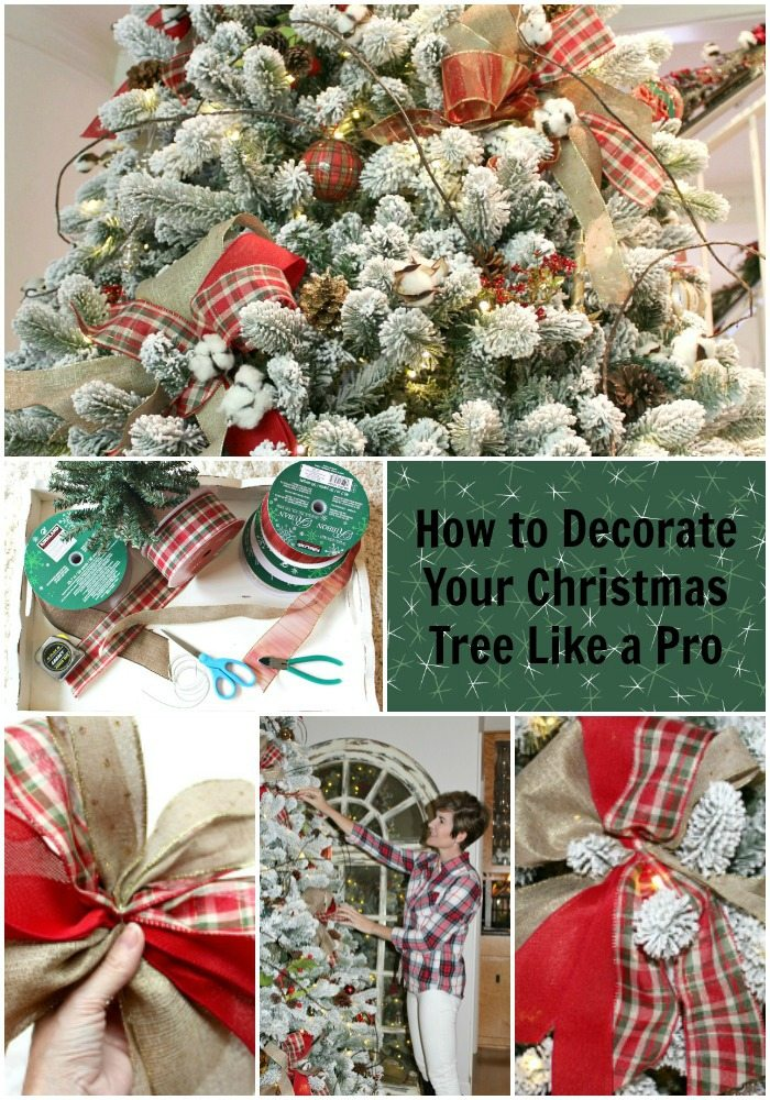 easy designer tips Christmas tree decorating