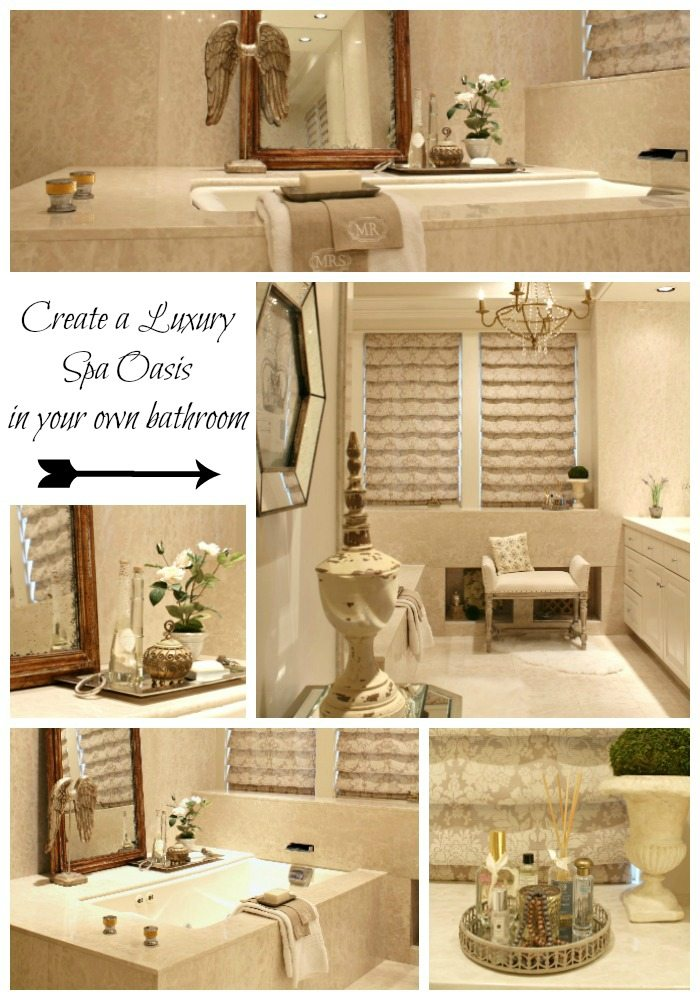 16 Soothing Spas And Saunas: Relaxing Bathroom Retreat: Create A Luxury Spa Oasis