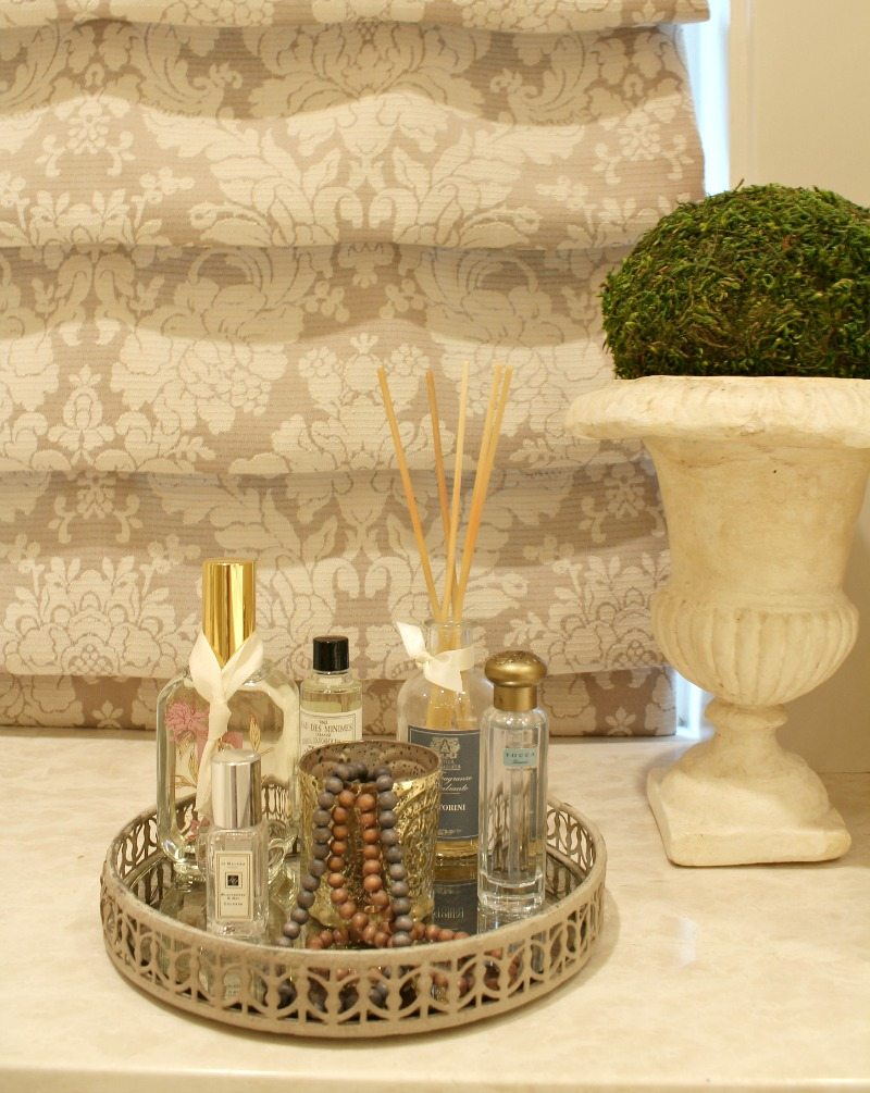 luxury bath products add to relaxing spa like experience