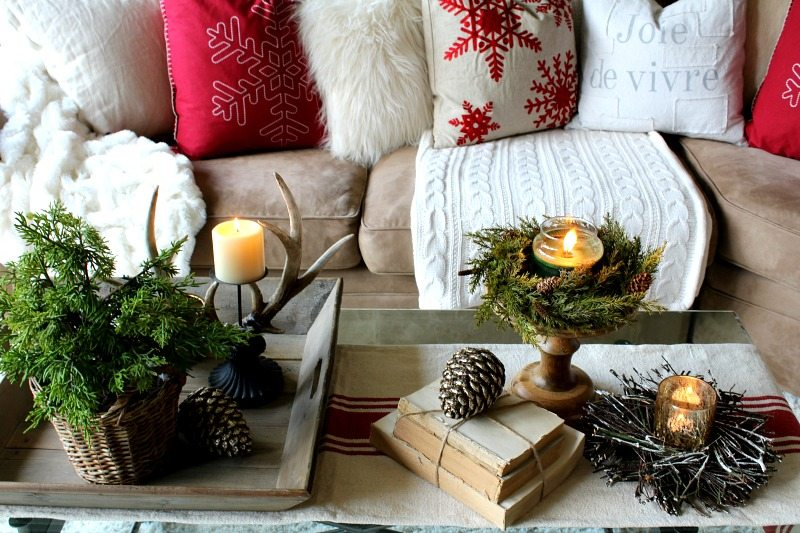 Country Cozy Cottage christmas Home Tour