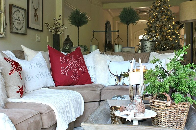 Beautiful Decorating Ideas for a Traditional Christmas cozy look