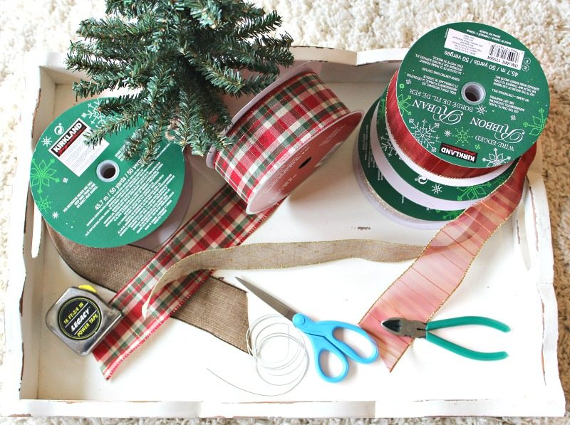 Ribbon Bows are an inexpensive and easy idea to turn your Christmas tree into a masterpiece