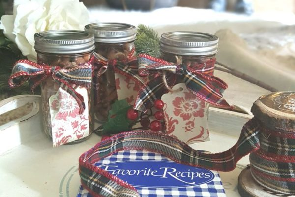 Spicy Nuts make the perfect homemade holiday gift idea