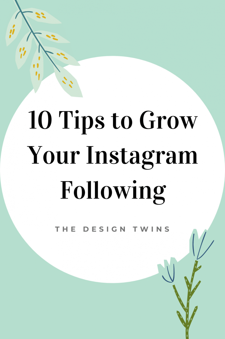 10 Tips to Grow your Instagram following