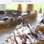 Cranberries cream cheese and dark chocolate drizzle make delicious decadent delights