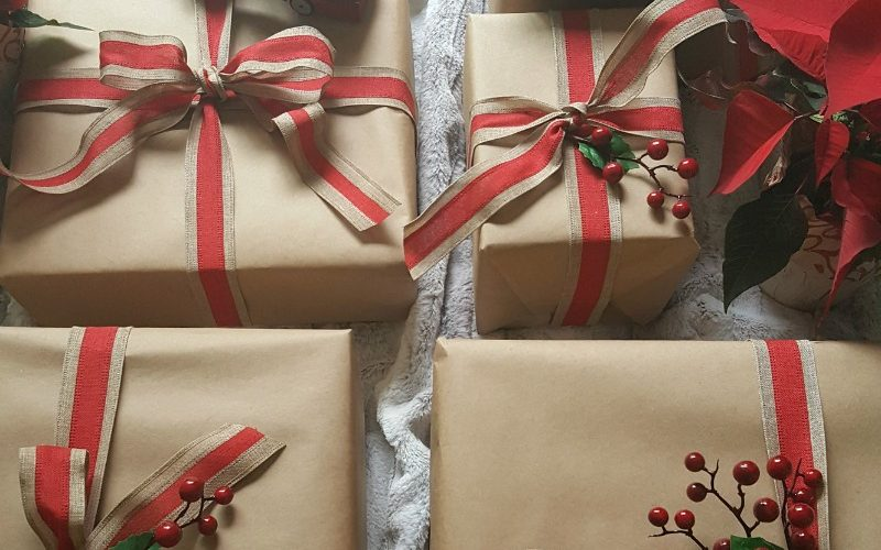 Brown paper packages tied up with creative inspiration