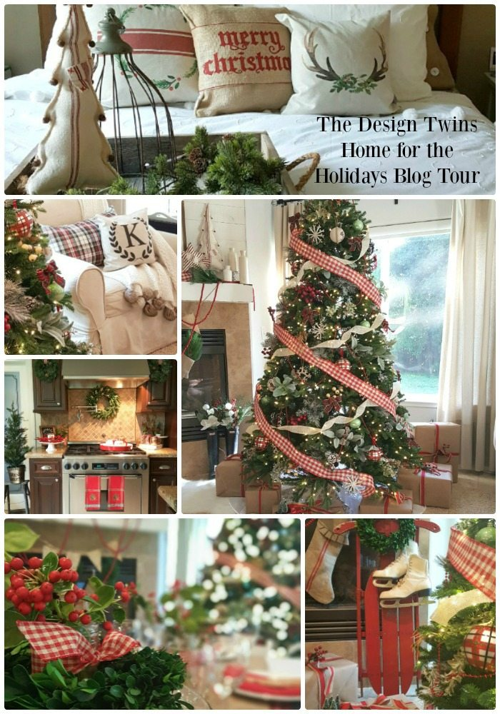 The Design Twins Home for the Holidays Blog Tour pin