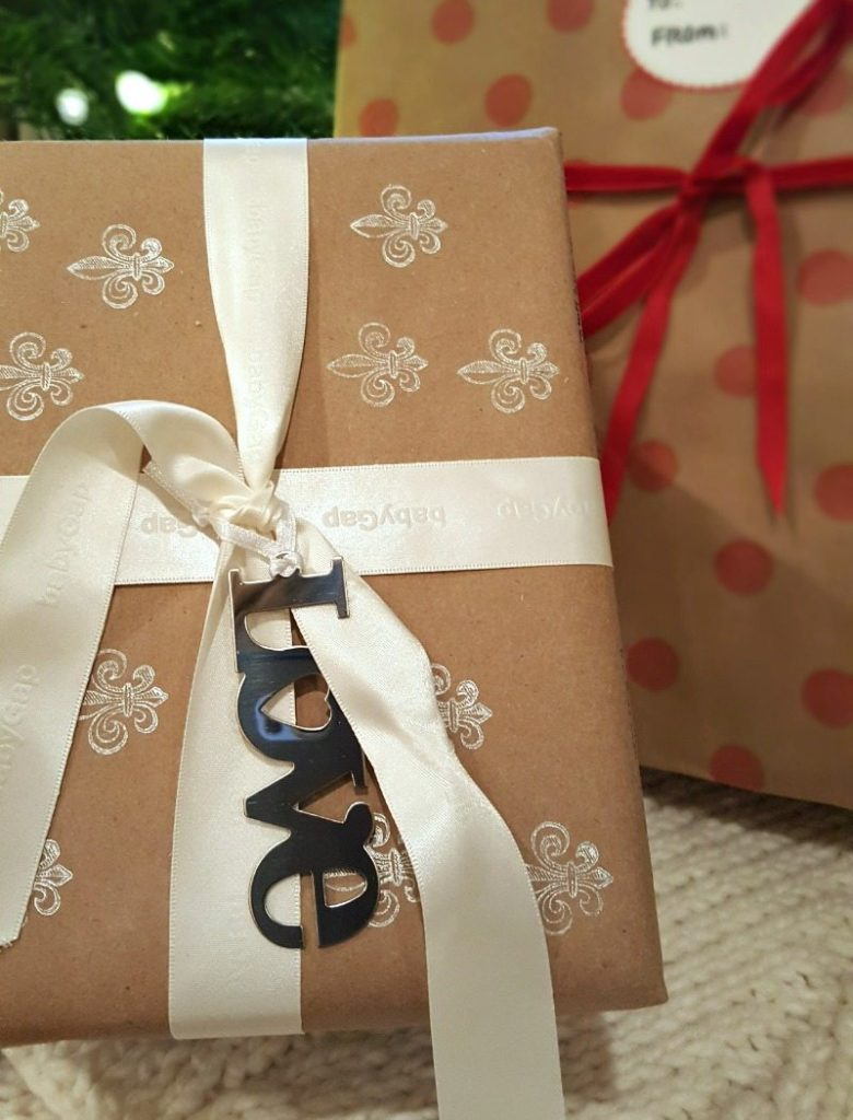 tags and stamps for DIY gift wrapping