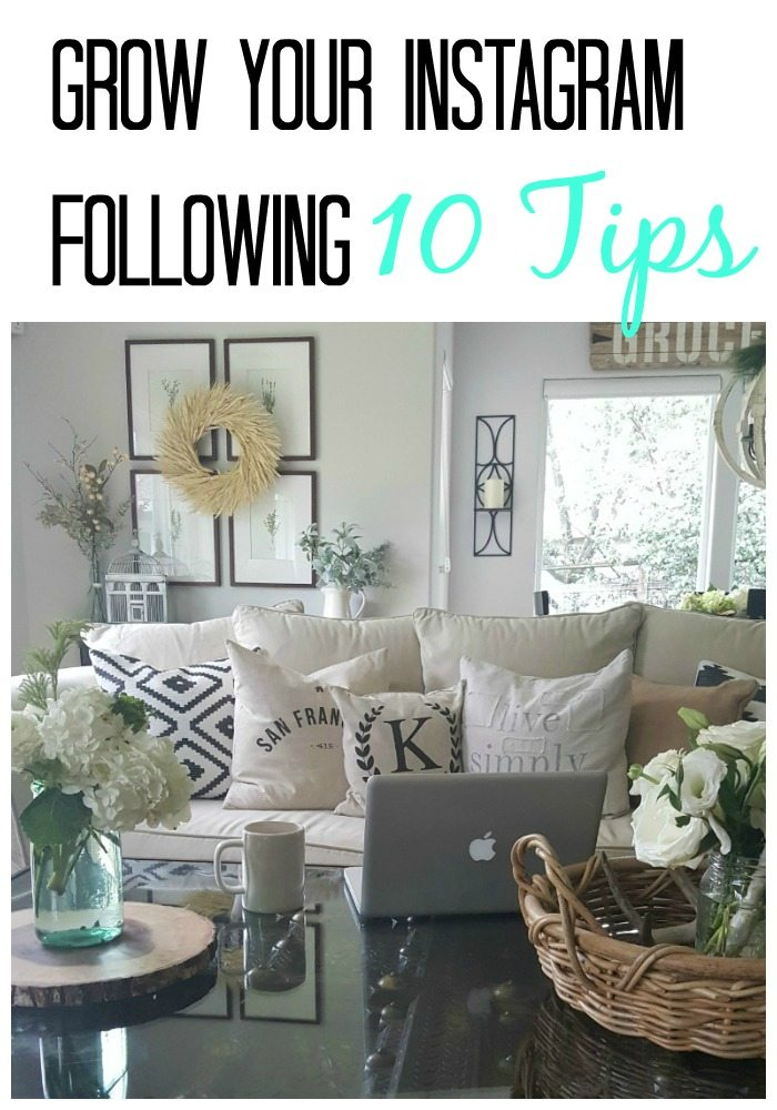 Grow instagram following 10 tips the design twins diy for Style at home instagram