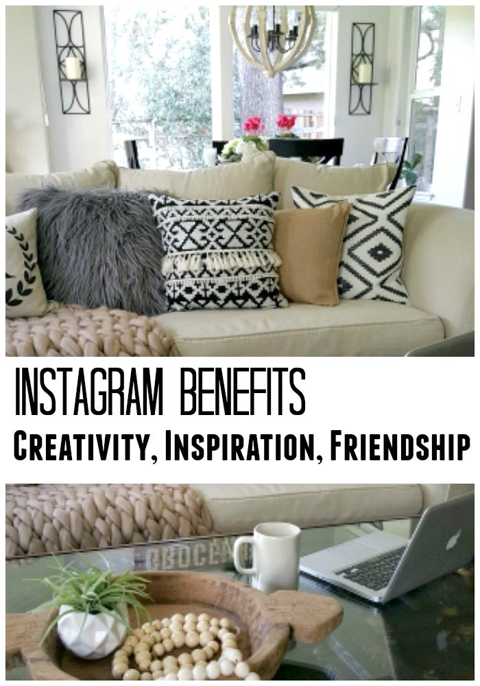 Instagram Benefits: Creativity, Inspiration and Friendship pin
