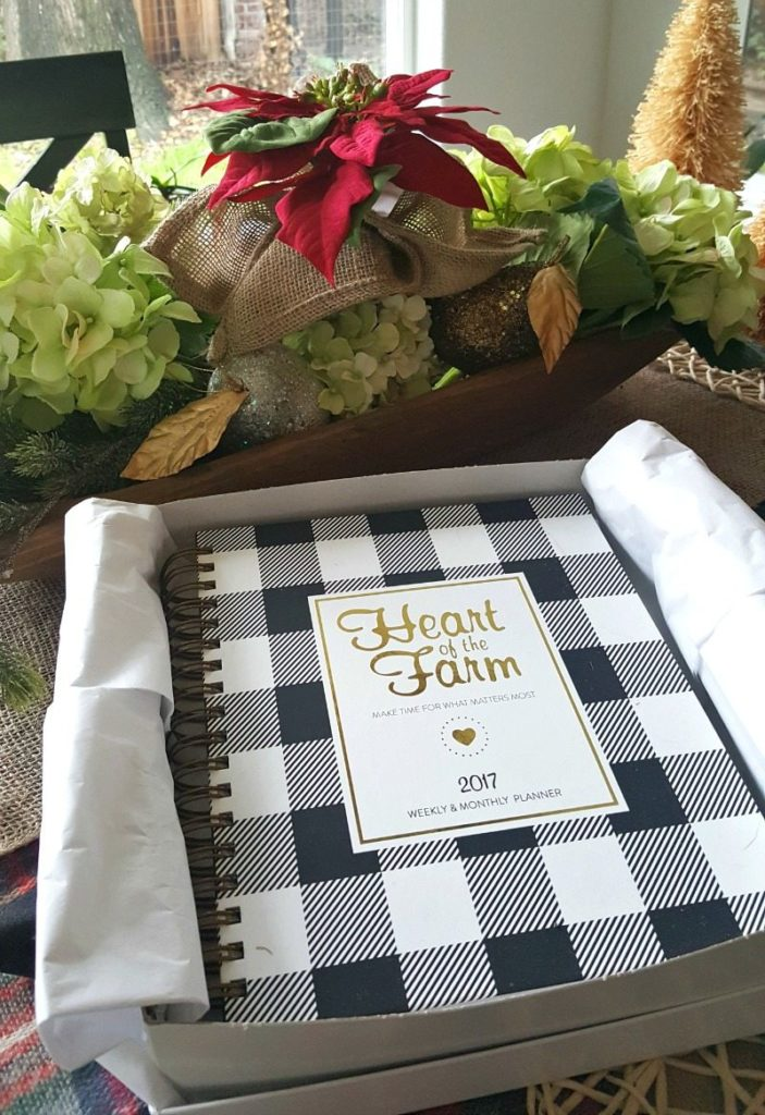 Heart of the Farm Planner is a great tool to organize your life