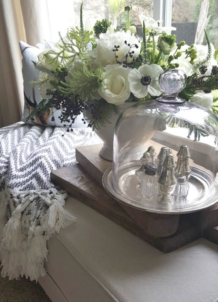 Redecorate, restyle & refresh your spaces with flowers and antiques.