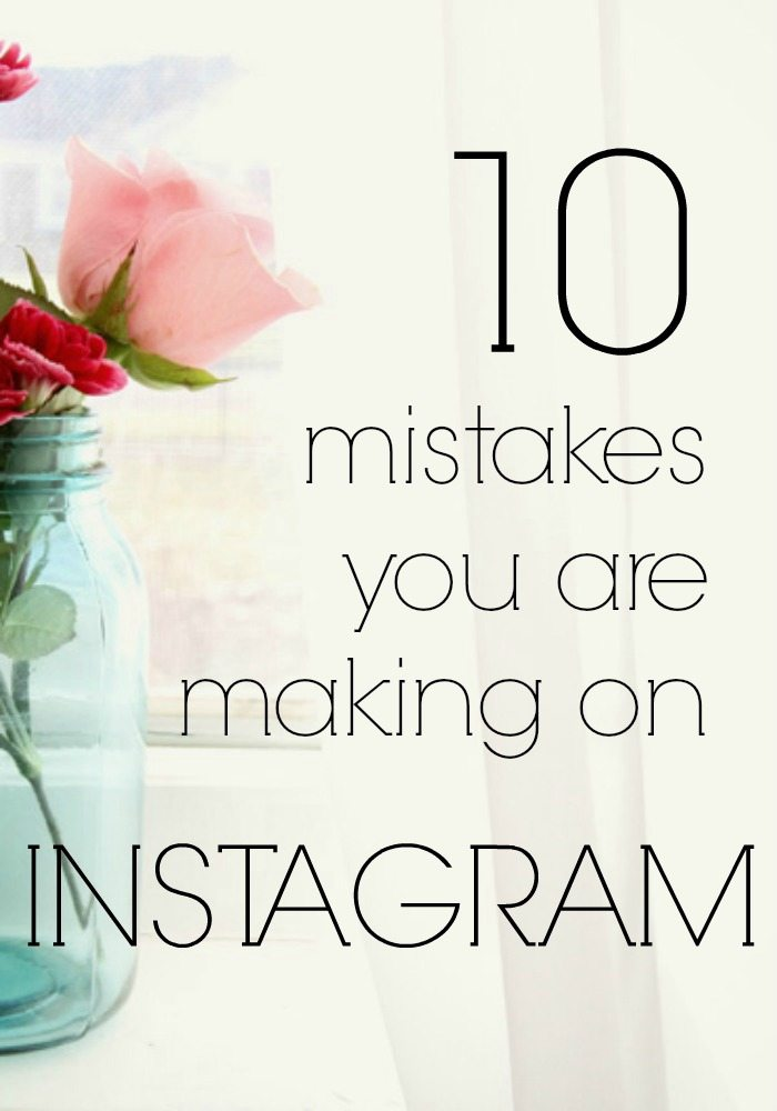 10 mistakes you are making on Instagram pin