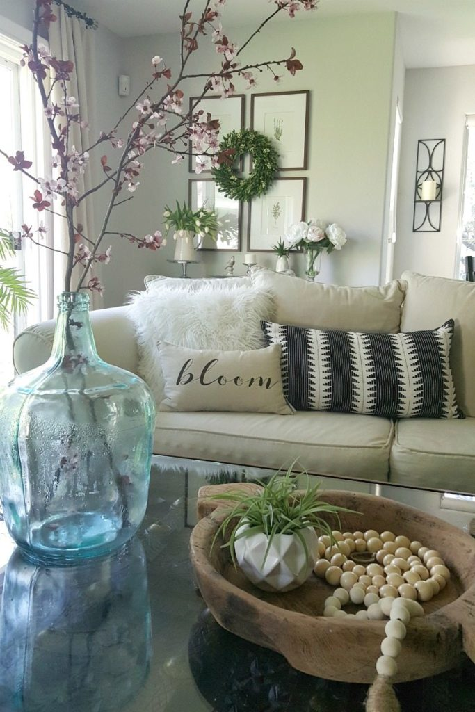 Easy cheap springtime home decorations