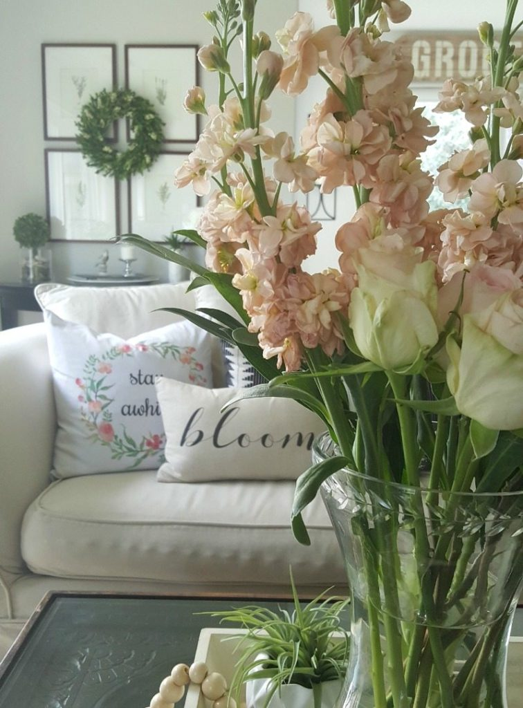 budget spring decor ideas