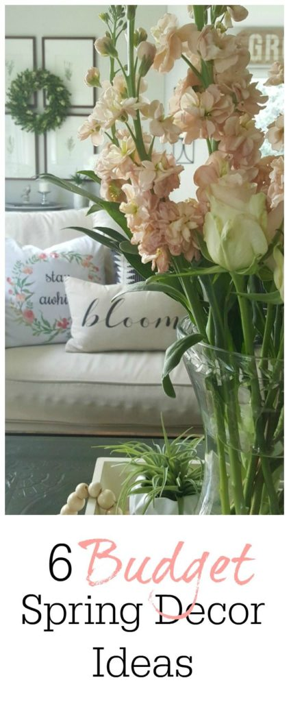 elegant budget spring decor ideas