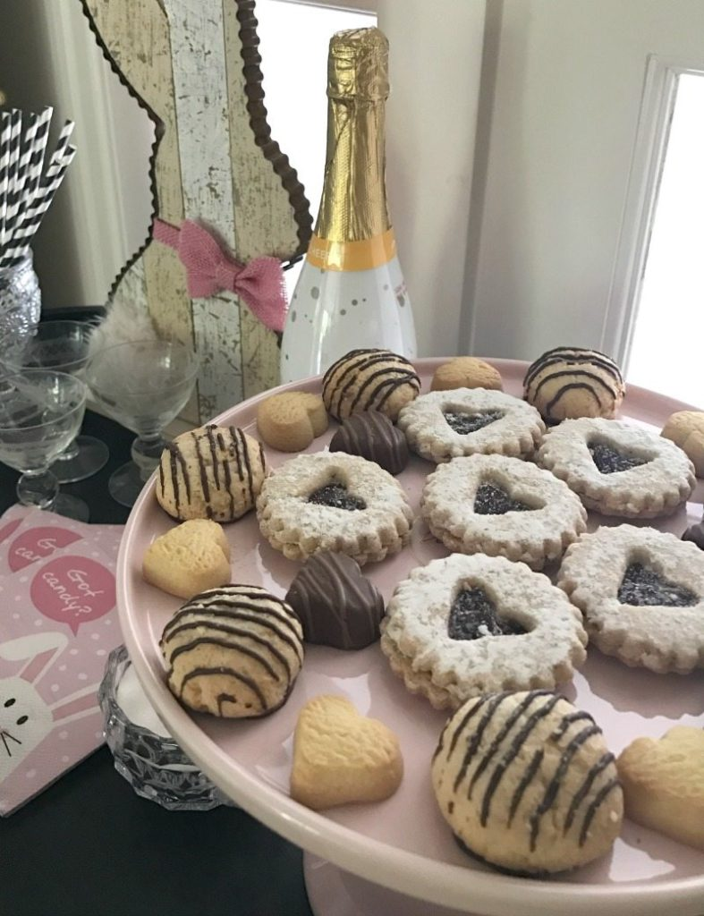 Bar Cart Treats for Easter Party
