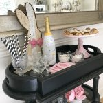 Bar Cart Styling Fun