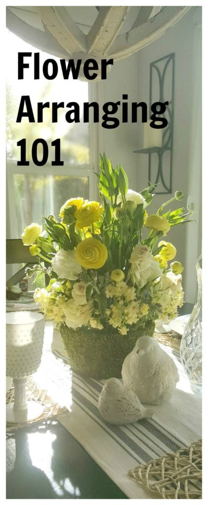 overcome your fear of flower arranging