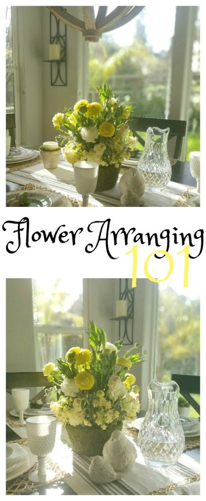 life lessons from flower arranging
