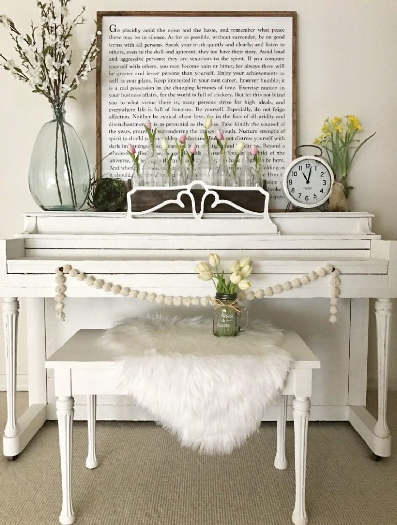 DIY repurpose furniture with chalk paint