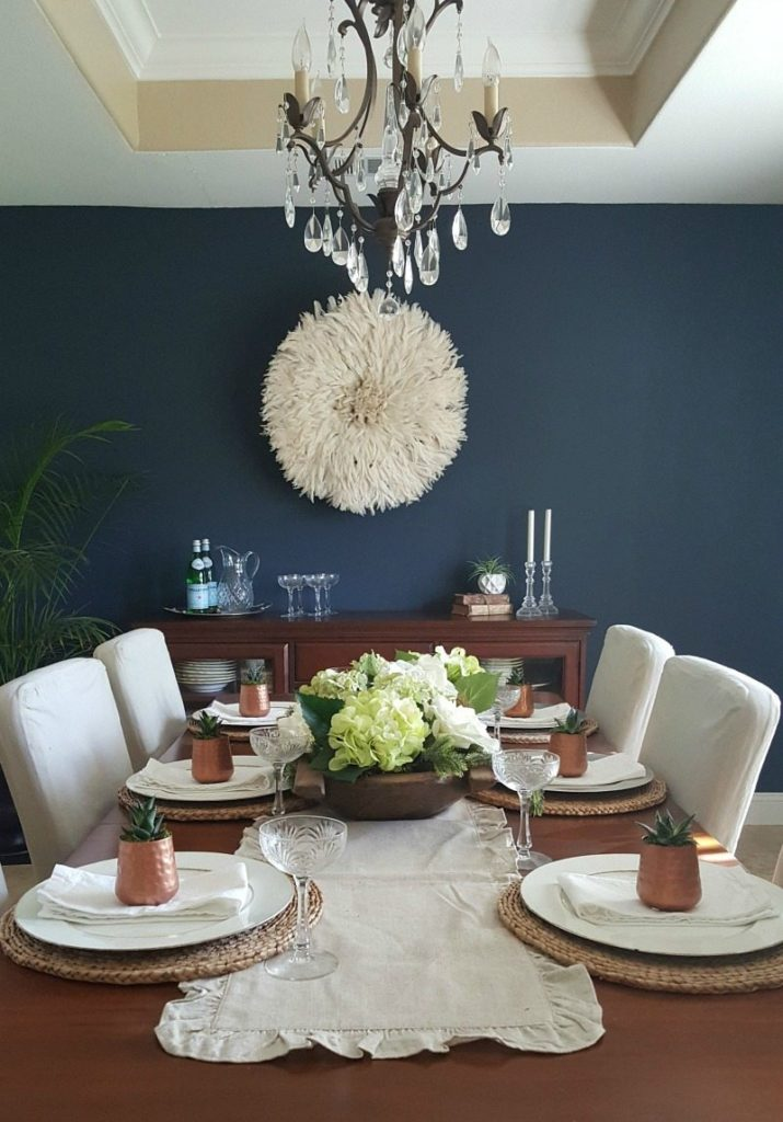 bold painting transforms decor