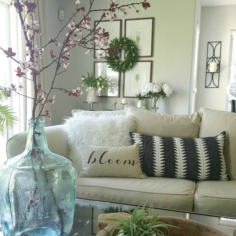 6 Budget Spring Decor Ideas