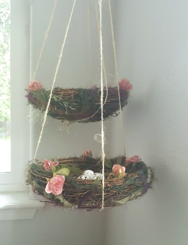 create adorable hanging nests
