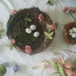 How to Create these Adorable Organic Hanging Nests
