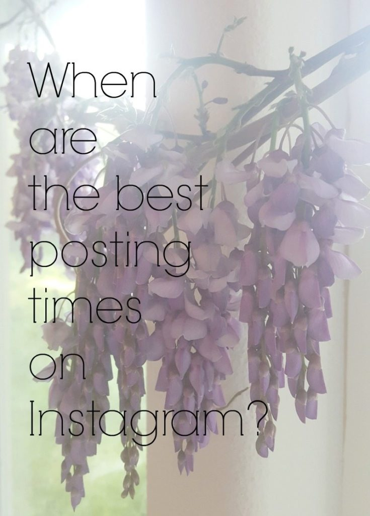 best posting times on Instagram