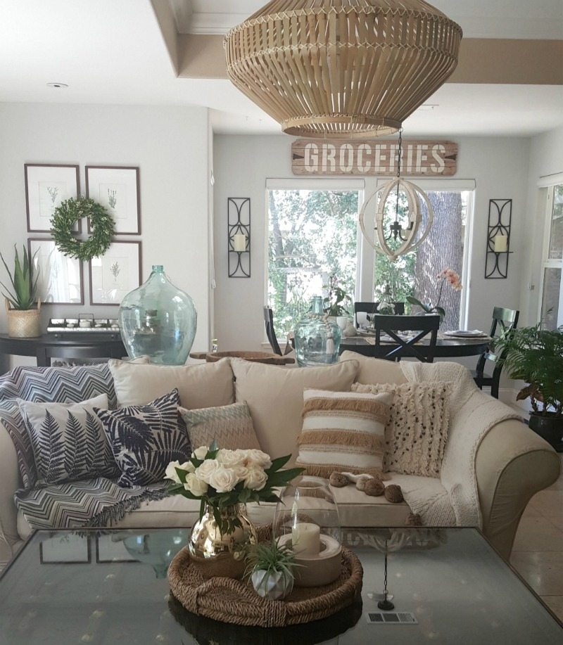 Boho style is eclectic and easy to mix