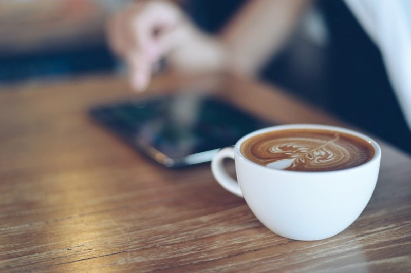 apps to succeed on Instagram, coffee