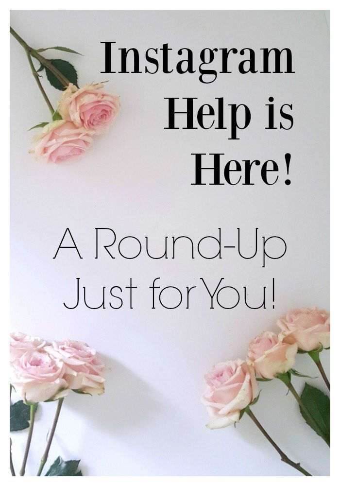 Instagram Help is Here! A Round-Up Just for You! pin