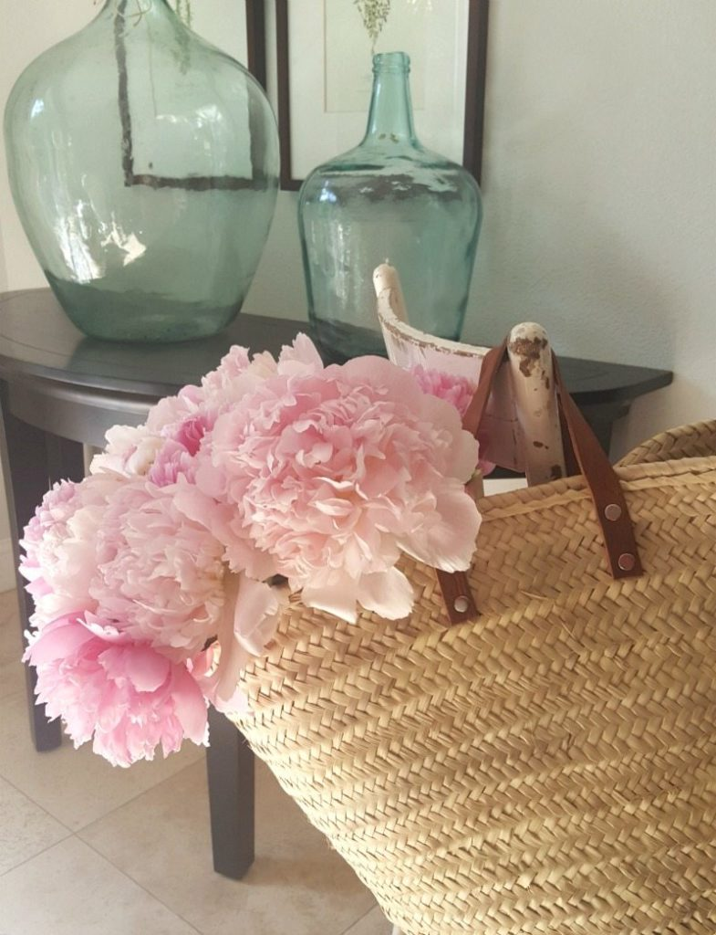 French Market Baskets add perfect accent