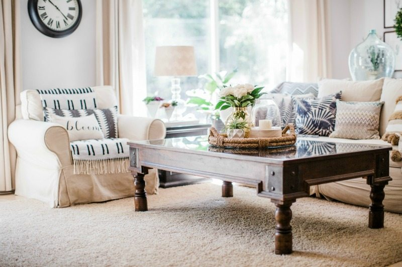 easy inexpensive summertime decor updates