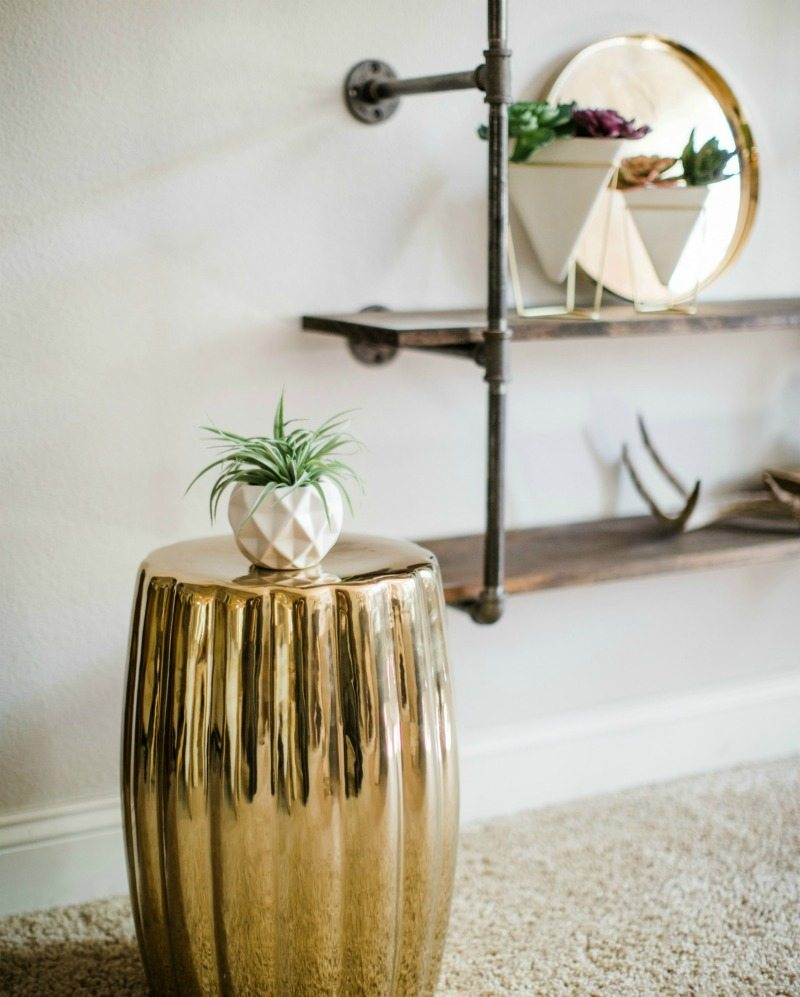 mix decor rustic modern glam styles
