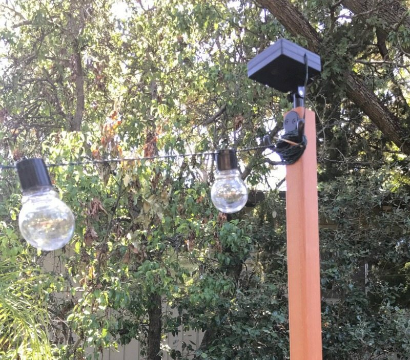 DIY tutorial for outdoor light project