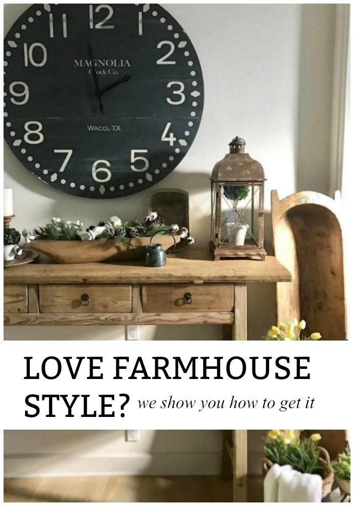 Farmhouse antiques and vintage charm