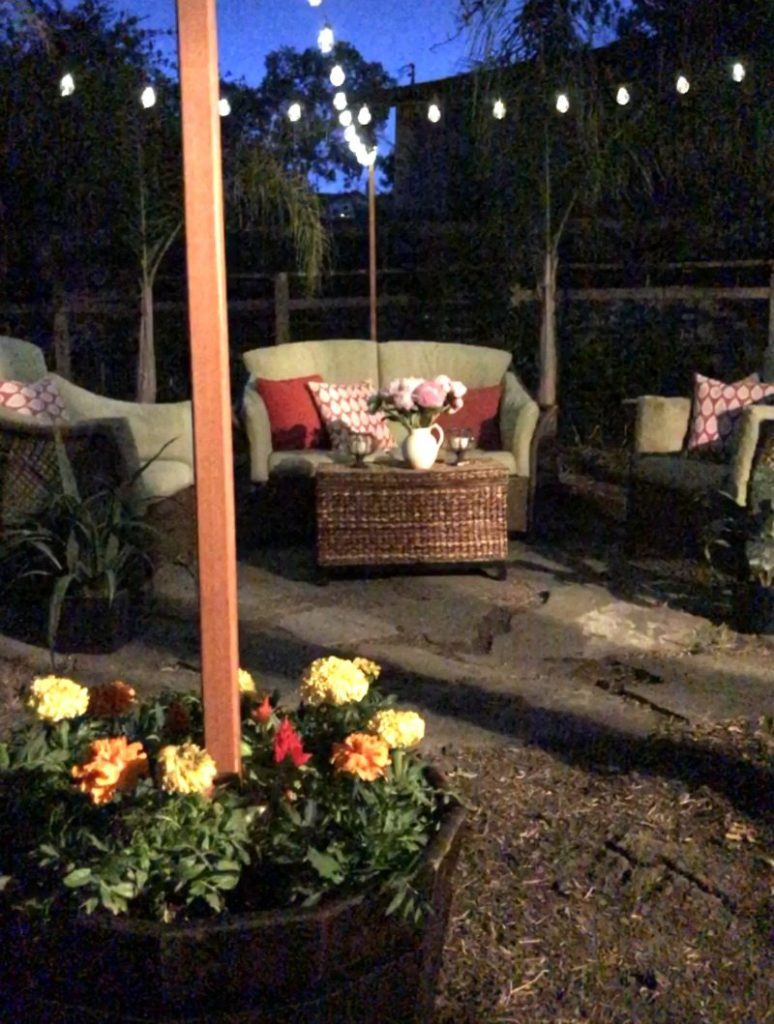 outdoor hanging on design nails without brick light lights